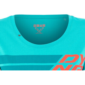 Dynafit Graphic Cotton Camiseta Manga Corta Mujer, ocean/dynafit
